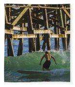 Surfer Dude 3 Fleece Blanket