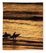 Surfers Fleece Blanket