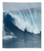 Surfing Jaws 5 Fleece Blanket