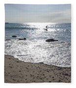 Surfing Mercury Fleece Blanket