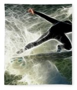 Surfing Usa Fleece Blanket