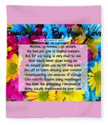 Surrounded By Your Love Fleece Blanket