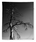Survival Tree Fleece Blanket