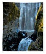 Susan Creek Falls Series 12 Fleece Blanket