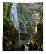 Susan Creek Falls Series 3 Fleece Blanket