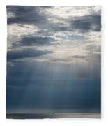 Suspended Between Heaven And Earth Fleece Blanket