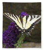 Swallowtail Butterfly Fleece Blanket
