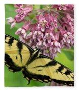 Swallowtail Notecard Fleece Blanket