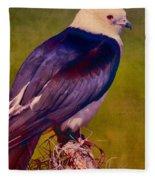 Swallowtail Pose Fleece Blanket