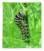 Swallowtail To Be Fleece Blanket