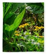 Swamp Bouquet Fleece Blanket
