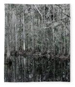 Swamp Greens Fleece Blanket