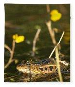 Swamp Muscian Fleece Blanket