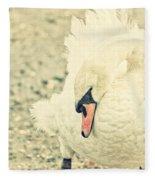 Swanny Fleece Blanket
