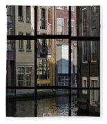 Swans Love Amsterdam Fleece Blanket