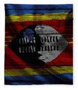 Swaziland Fleece Blanket