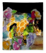 Sweet As Honey - Honey Bees Fleece Blanket