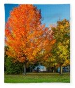 Sweet Autumn Fleece Blanket