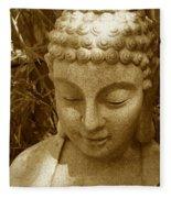 Sweet Buddha Fleece Blanket