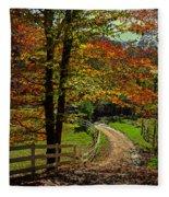 Sweet Country Morning Fleece Blanket