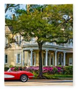 Sweet Home New Orleans 3 Fleece Blanket