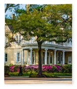 Sweet Home New Orleans Paint Fleece Blanket