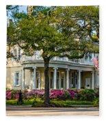 Sweet Home New Orleans Fleece Blanket