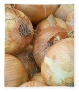 Sweet Onions Nj Grown Fleece Blanket