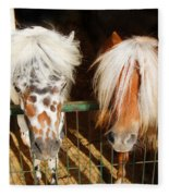 Sweet Pony Fleece Blanket