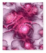 Sweet Sakura Fleece Blanket