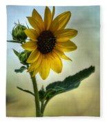 Sweet Summer Sunflower Fleece Blanket