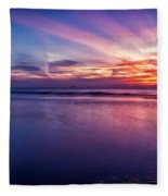Sweet Sunset Fleece Blanket