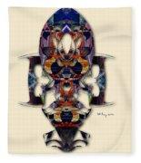 Sweet Symmetry - Projections Fleece Blanket