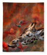Sweet Taste Of Spring Fleece Blanket