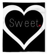 Sweetheart Fleece Blanket