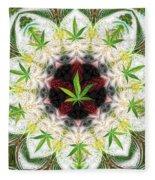 Sweetleaf Mandala Fleece Blanket