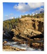 Swiftcurrent Creek Fleece Blanket