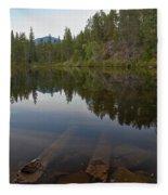 Swim Lake Fleece Blanket