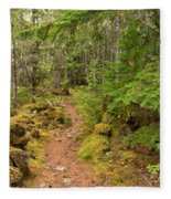 Swim Lake Trail Fleece Blanket