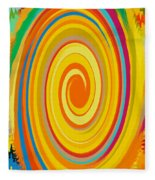 Swirl 80 Fleece Blanket