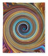 Swirl 85 Fleece Blanket