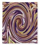 Swirl 88 Fleece Blanket