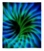 Swirled Confusion Fleece Blanket