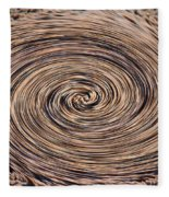 Swirling Sand Fleece Blanket