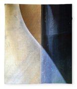 Swirls And Lines Fleece Blanket