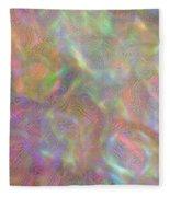 Swirls Of Light Fleece Blanket