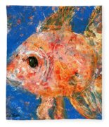 Swishy Fishy Fleece Blanket