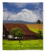 Swiss Farms Fleece Blanket