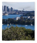 Sydney Harbour Fleece Blanket