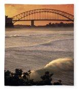 Sydney Surf Time Fleece Blanket